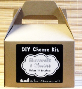 the mozzarella and ricotta kit- enough supplies for 10 batches!