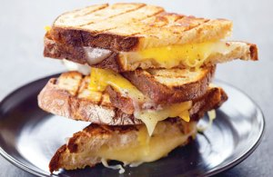 Build your own grilled cheese sandwich!